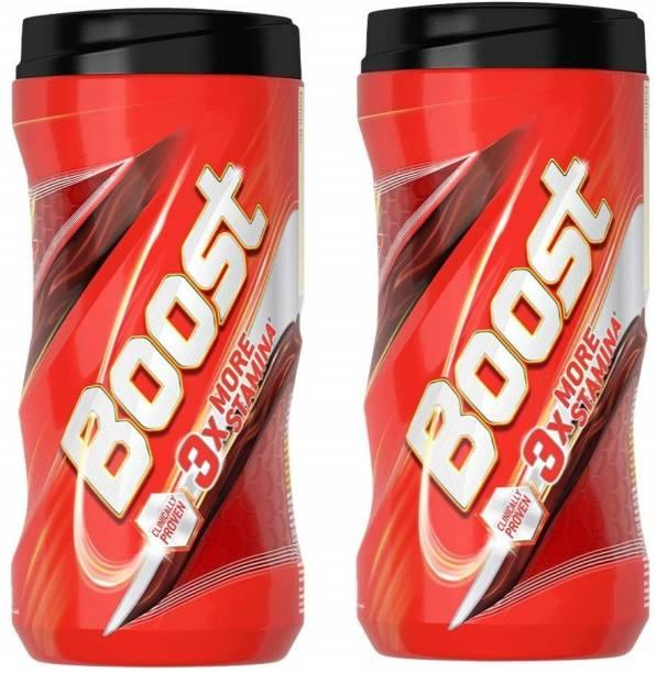 Boost Great New Taste 3X More Stamina 450 Gram Pack of 2