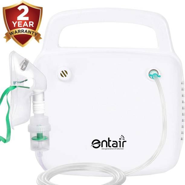 entair JK 15 Respiratory Steam Portable Mesh Nebulizer Machine for Baby Adults Kids & Sinus Asthma Inhaler Patients Nebulizer Nebulizer