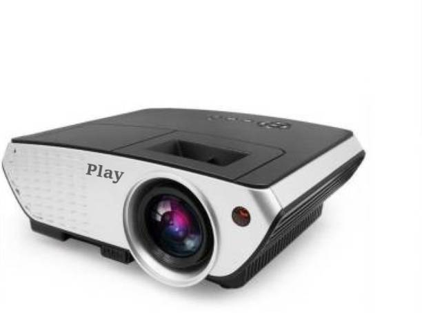 PLAY 3000 lumens LED Projector Full HD Data Show TV Video Games Home Cinema Theater Video Projector HD 1280x1080P with high 2000 : 1 Contrast 3000 lm LED Corded Portable Projector