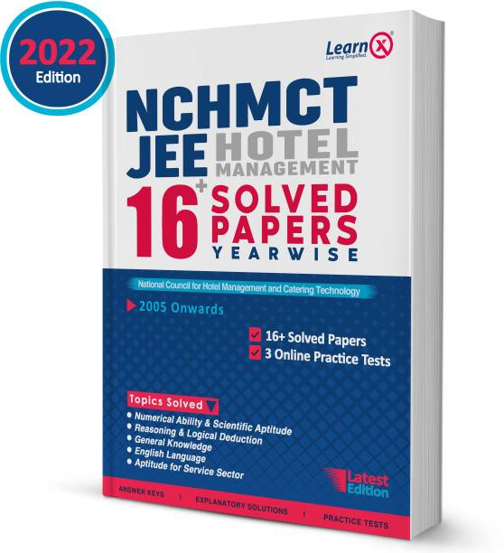 NCHMCT JEE Hotel Management Entrance Solved Papers (Yearwise) With 3 Online Practice Tests