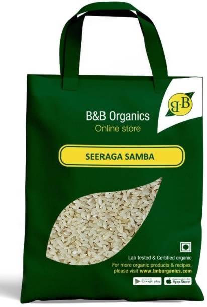 B&B Organics Seeraga Samba Jeera Samba Rice (Medium Grain, Polished)