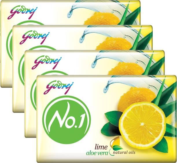 Godrej No.1 Lime Aloe Vera Natural Oils