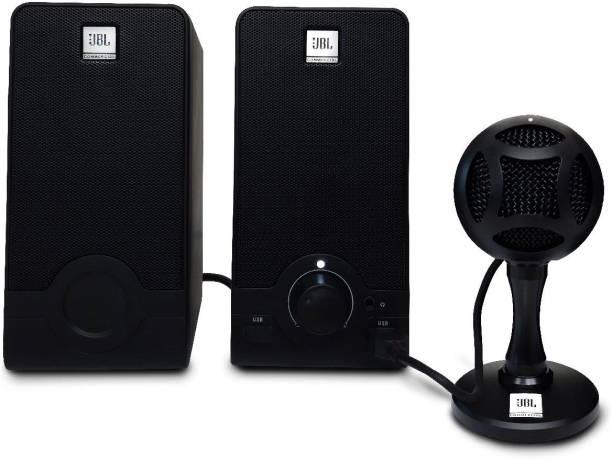 JBL Commercial Work From Home Bundle with Microphone & USB 2.5 W Laptop/Desktop Speaker