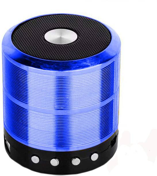 Wolgite Mini WS 887 Speaker,3D Bass splash proof mini Blast with Party,High sound,All Device/Random, Multi function Speaker, thunder sound Wireless Bluetooth Speaker for Car/Laptop/Home audio & gaming With USB/FM/TF card & Pen Drive line in aux supported Mini Bluetooth Speaker Bluetooth LED Bluetooth speakers 10 W Bluetooth Speaker