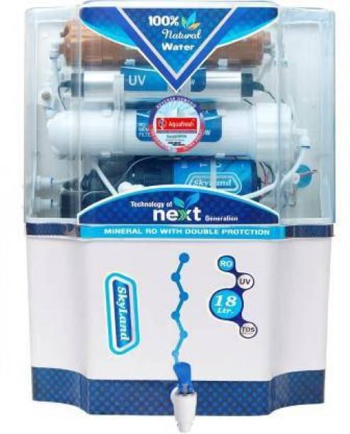 Aqua Fresh Omega skyland 18 L RO + UV + UF + TDS Water Purifier