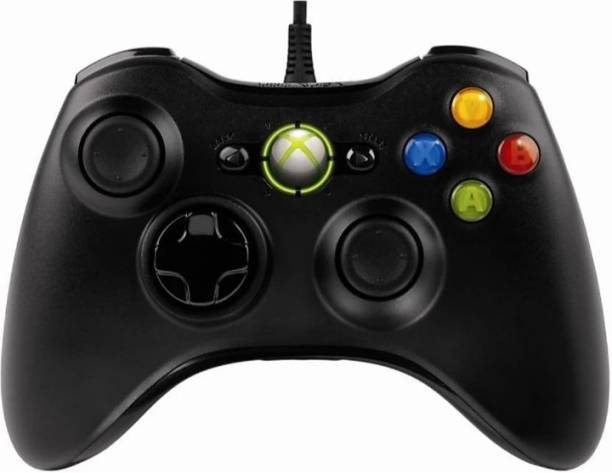 TBON Xbox360 Controller, with Wired For Xbox360/PC/Xbox (Black) Best Wired Controller Black Edition