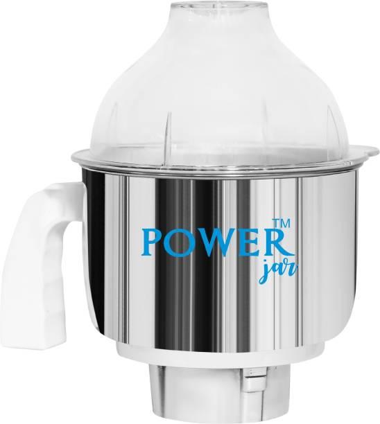 PowerJar Stainless Steel Mixer Jar (1.5 L) Mixer Juicer Jar Mixer Juicer Jar