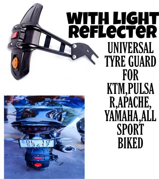 Aklin Boky Rear Mud Guard For Universal For Bike Universal For Bike 2017, 2018, 2019, 2015