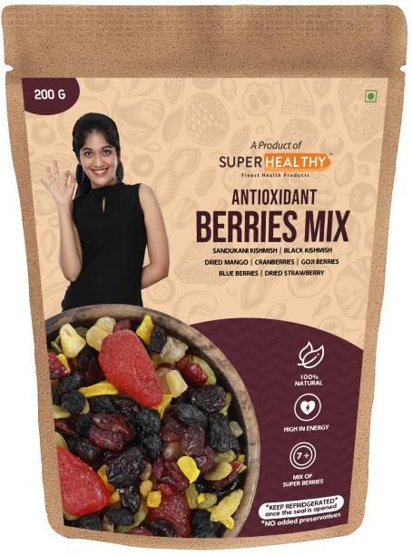 Super Healthy Antioxidant Berries Mix Assorted Fruit