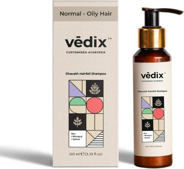 Vedix Anti Hairfall Shampoo - For Normal - Oily Hair