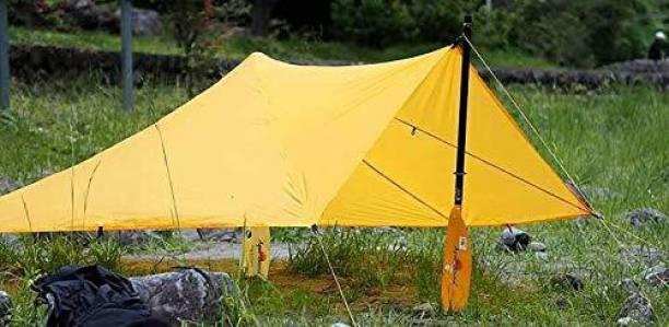 Barish Tarpaulin Sheet Waterproof Heavy Duty 9ft x 12ft 100 GSM Multipurpose Plastic Tent - For Truck, Roof, Sun, Outdoor, Rain