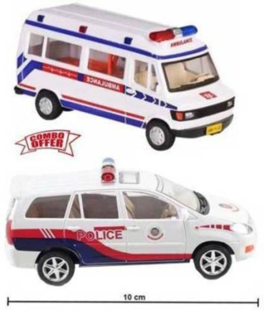 VEDANSHI Ambulance & Inova Police Car