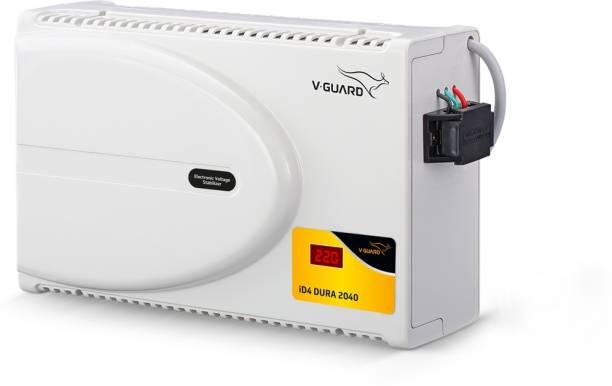 V-Guard iD4 Dura 2040 with Digital Display for 1.5 Ton Inverter A.C (Working range: 160 V To 280 V) Voltage Stabilizer