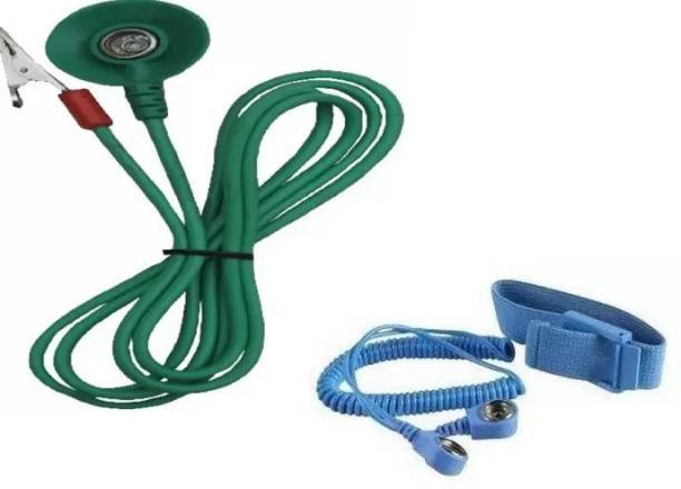 The Runway Grounding Cord Cord Safe Anti Static Wrist Band B2B Cord Anti-Static Wrist Strap