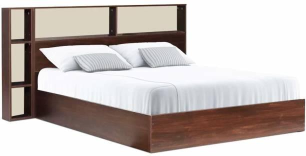 CasaStyle Mercay With Box Storage Engineered Wood King Box Bed