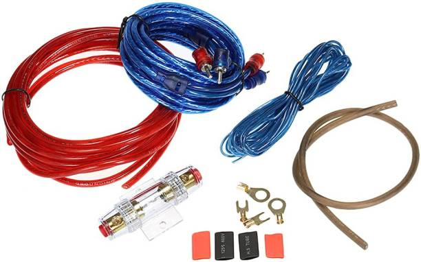 13-HI-13 Car Subwoofer Amplifier Installation Wiring Kit Cable Fuse Holder Wire Cable SUITABLE FOR ANY 2 AMPLIFIER Two Class B Car Amplifier