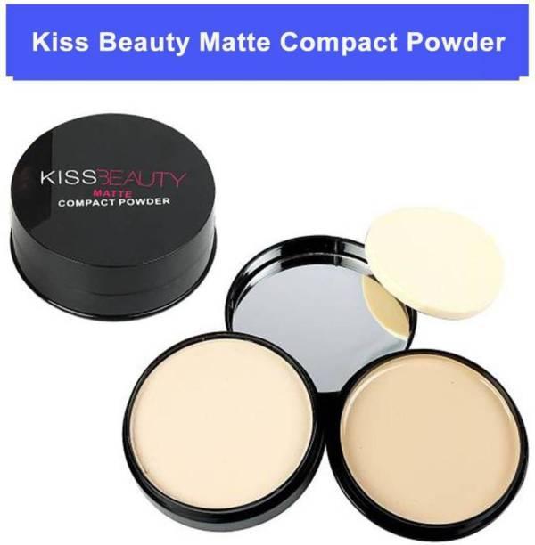 Kiss Beauty compact powder matte Compact