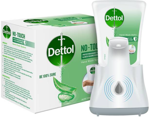 Dettol No Touch System Hand Wash Refill + Dispenser