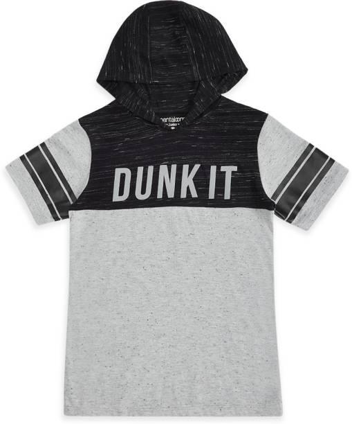 Pantaloons Junior Boys Printed Pure Cotton T Shirt