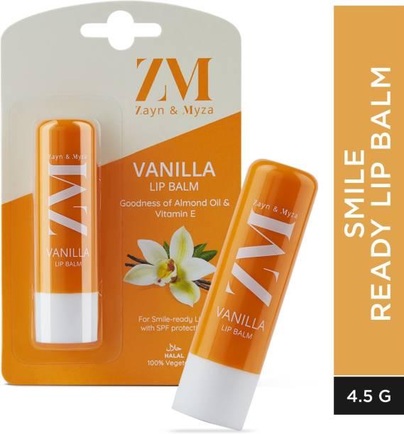 ZM Zayn & Myza SPF Protection With Almond Oil & Vitamin E, Goodness of Jojoba Oil, Moisturizes and Repairs Dry Lips - PABA-free, 100% Vegetarian, Lip Balm Cherry