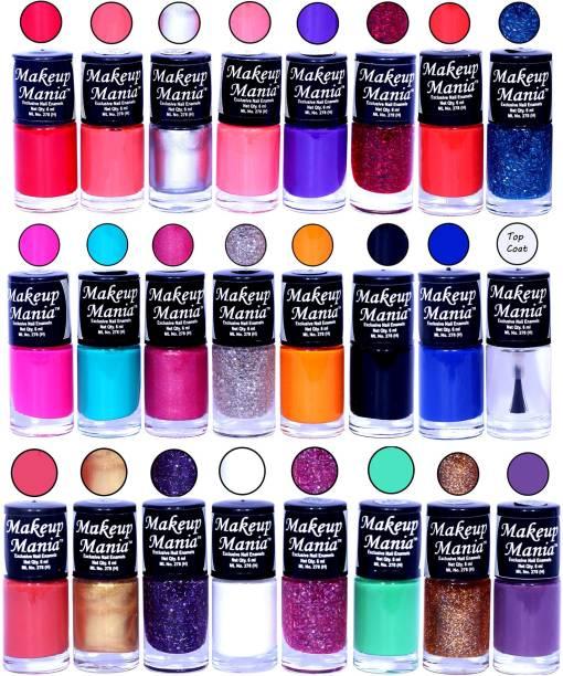 Makeup Mania Exclusive Nail Polish Set of 24 Pcs. Multicolor Set-86-87