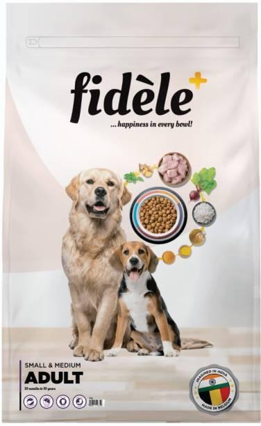 FIDELE + Adult Small & Medium Chicken 3 kg Dry Adult Dog Food
