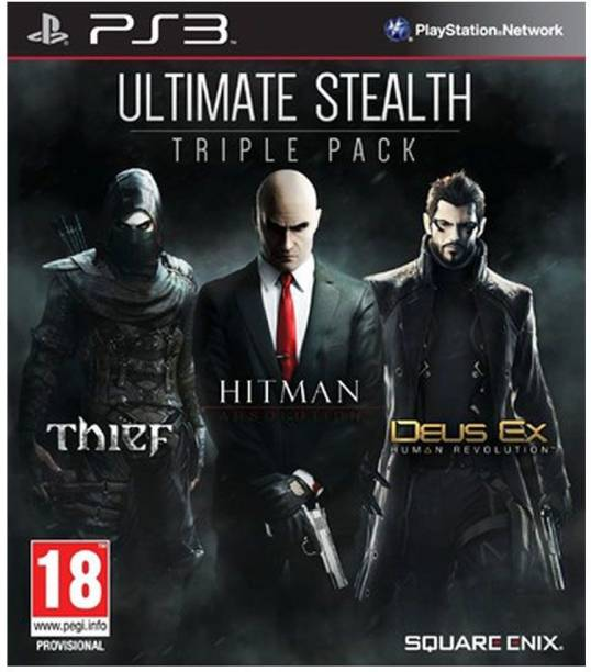 Ultimate Stealth Triple Pack PS3 (2014)