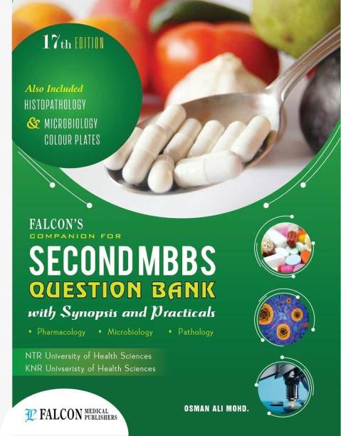 Second Year Mbbs Question Bank With Synopsis And Practicals. Pharmacology.pathology.microbiology.( Usefull Ntr University And Knr University Health Science And Etc 2021 Edition)