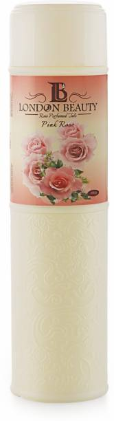 Kingsgate Present's London Beauty Alluring Perfumed Talc with Classic Notes of Roses and Exotic Irises, 250 g