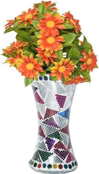 CRAFTVERRE Mosaic (15 cm) Glass Vase