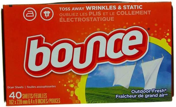 Bounce Fabric Softener Fresh 40 Sheets Detergent Bar