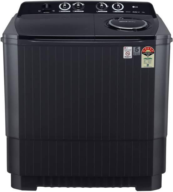 LG 11 kg Semi Automatic Top Load Black