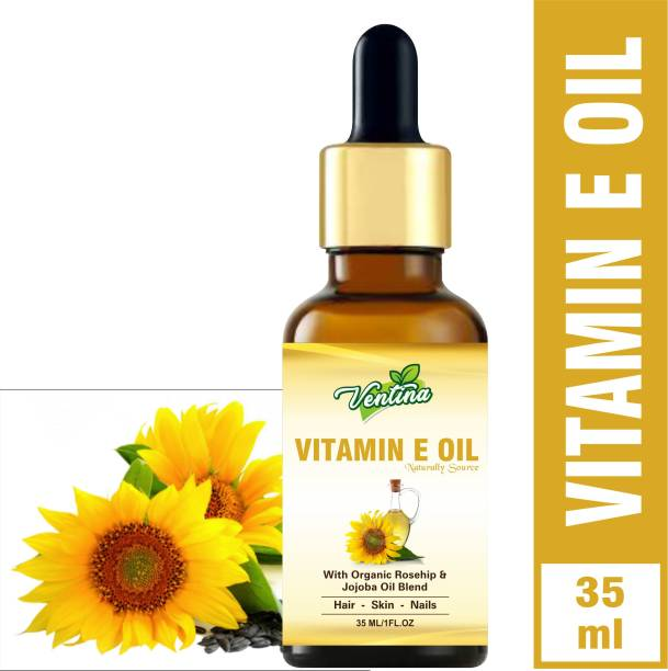 Ventina Organics Pure Vitamin E Oil 35 ml 100% Natural Therapeutic Grade