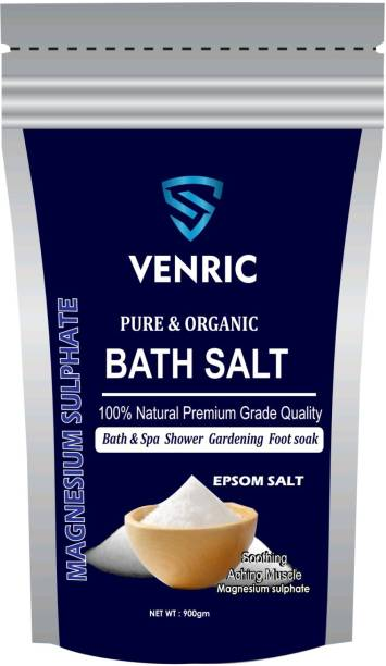 VENRIC Pure Epsom Salt for Muscle Relief, Foot soak Relieves Aches & Pain, Therapeutic Spa for Speed Up Plant Growth Vegetables & Plants Nutrient