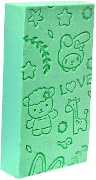 SCODELLA Bath Body Shower Sponge - SPA Scrub Exfoliator Dead Skin Remover for Women and Men (PACK OF 1, MULTICOLOUR)