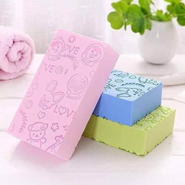 Modiza Bath Body Shower Sponge - SPA Scrub Exfoliator Dead Skin Remover massager for Women Men and children