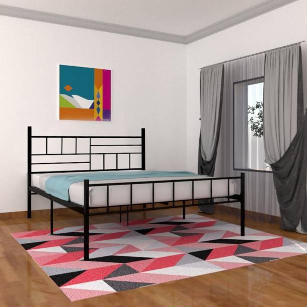 Flipkart Perfect Homes Studio Berlin Metal Queen Bed