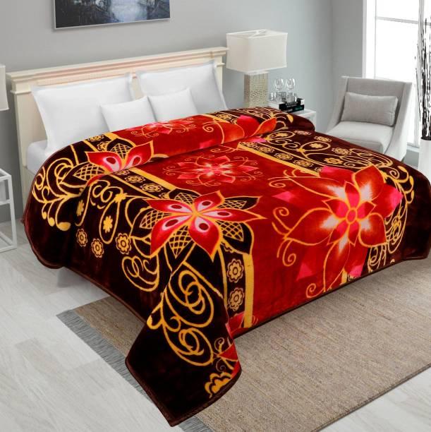 IWS Printed Double Mink Blanket