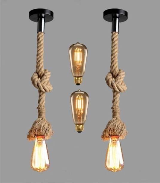 LazyHomez rope Pendants Ceiling Lamp