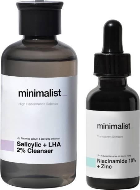 Minimalist Daily Acne Care Kit