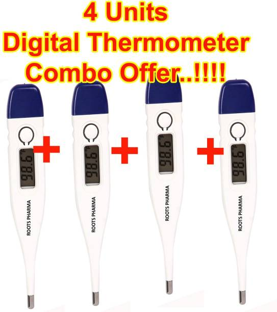 ROOTS PHARMA RCB102 4 UNITS Combo Pack Offer..!!!  Digital Thermometer RP 102 Thermometer