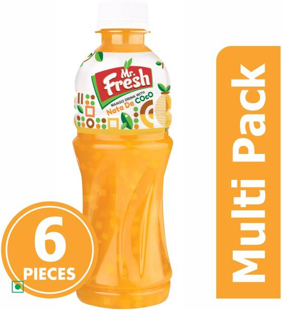 MR FRESH MANGO DRINK WITH NATA DE COCO PACK OF 6