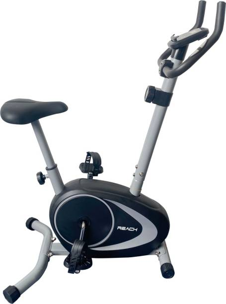 Reach B-202 Magnetic Exercise Bike for Weight Loss at Home Gym Fitness Cycle Upright Stationary Exercise Bike