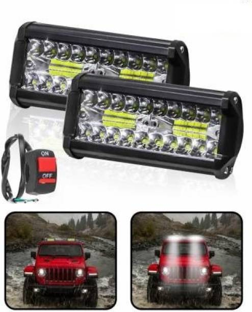 fabtec LED Fog Lamp Unit for Universal For Car Universal For Car