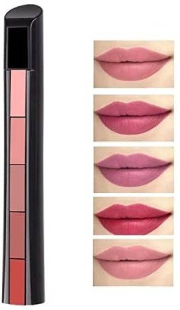 teayason Velvet Matte Ultra Smooth 5 in 1 Lipstick 5in1