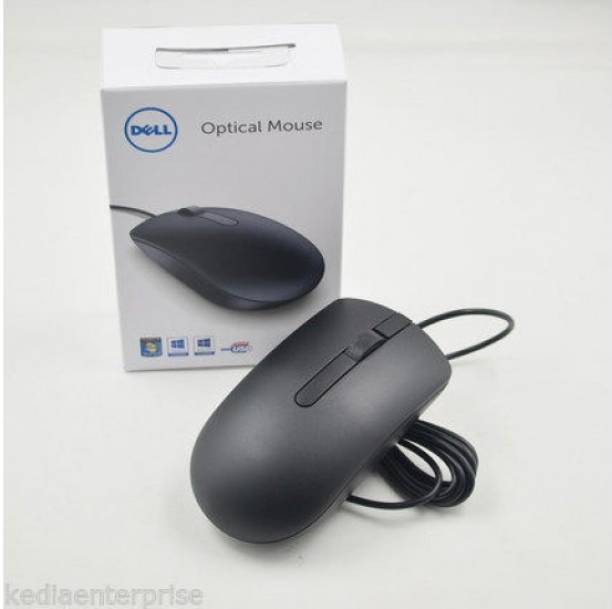 DELL MOUSE USB MS 116 Wired Optical Mouse