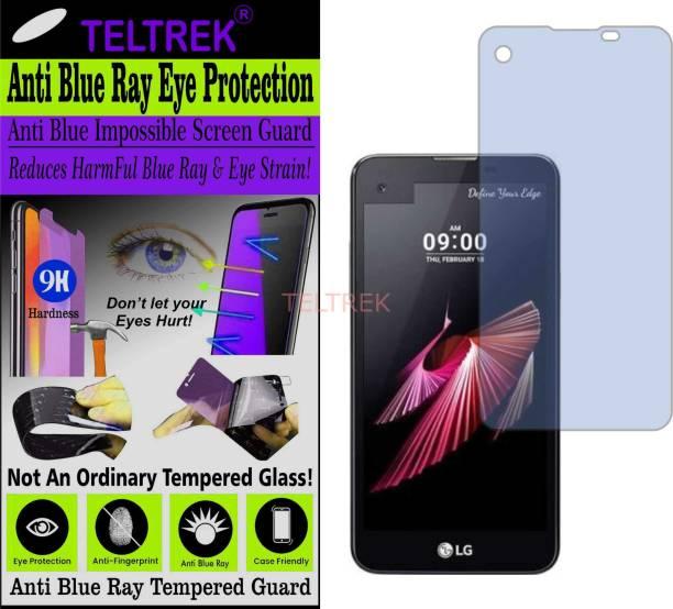 TELTREK Tempered Glass Guard for LG X SCREEN K500I (Impossible UV AntiBlue Light)