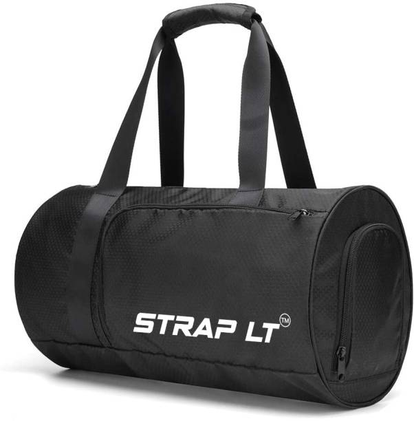 Straplt Sports Gym Bag, Travel Duffel Bag With Wet Pocket & Shoes Compartment