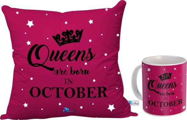 SKY TRENDS Cushion, Mug Gift Set