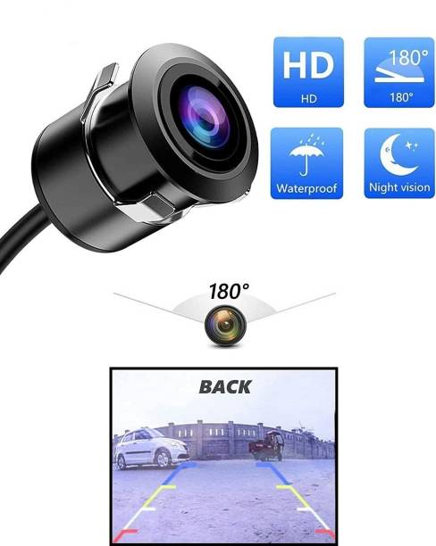 CARZEX New* Full HD NIGHT VISION 180° Wide Viewing Angle High Resolution Car Camera Totally Waterproof Night Vision Camera New Car Camera for All Cars.(Universal Car Camera) Full HD 1080p Car Camera with 180° Wide Viewing Angle High Resolution Rear View Reverse Parking or Front Camera for All Cars. Vehicle Camera System